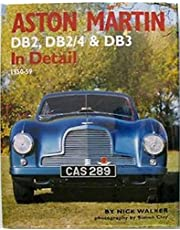 Aston Martin DB2, DB2/4 & DB3 In Detail: 1950-59 by Nick Walker (2005-03-28)
