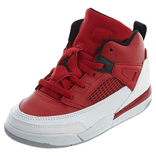 Nike Jordan Spizike BT Toddler Basketball Shoes Gym Red/Black/White/Wolf Grey 317701-603 (7 M US)