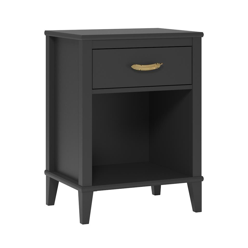 Little Seeds Monarch Hill Hawken Nightstand, Black by Little Seeds