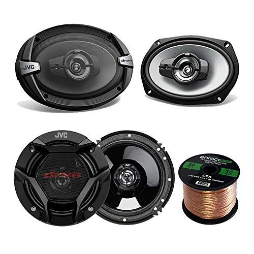 Car Speaker Package Of 2x JVC CS-DR6930 6x9