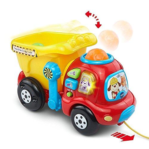 Go Dump Truck (VTech Drop and Go Dump Truck Music Playset Toys, 6 Months to)