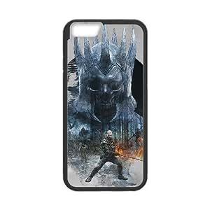 LA WITCHER3 SALVAJE HUNT 05 para funda iPhone 6 Plus 5.5 pulgadas funda caja del teléfono celular cubre negro