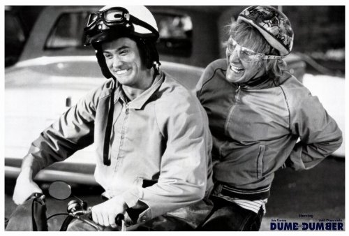 Dumb and Dumber - Harry and Lloyd on Scooter Movie Poster