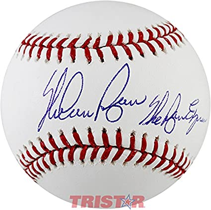 0c97a3b3ae4 Image Unavailable. Image not available for. Color: Nolan Ryan Signed  Autographed Official ML Baseball Inscribed ...