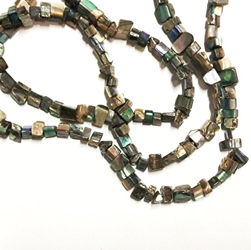 "Imagine If…Abalone Nugget 4x5mm to 8x9mm, 15.5"" Strand, for sale  Delivered anywhere in USA"