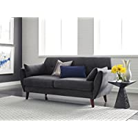 Serta Artesia Collection 73 Sofa in Slate Gray