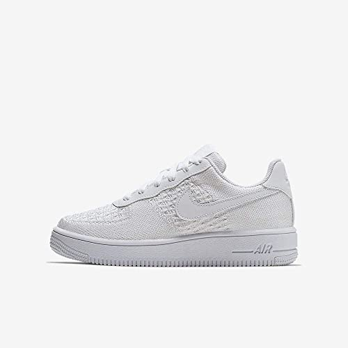 Nike Air Force 1 Flyknit 2.0 (GS), Chaussures de Basketball ...