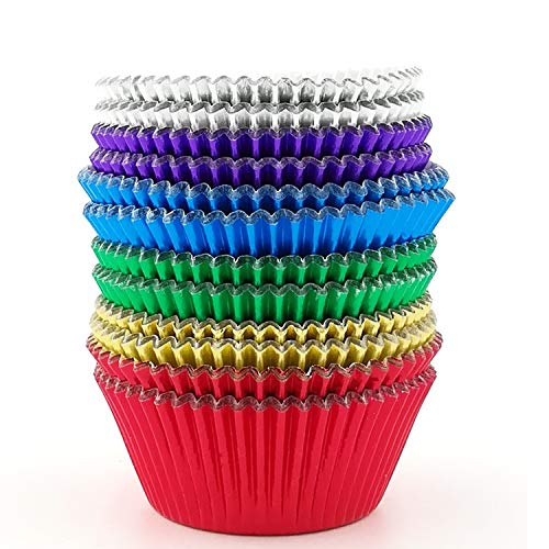 colored cupcake liners - 9