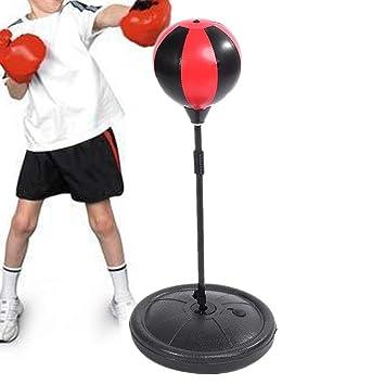 GOTOP Saco de Boxeo de pie, Pelota de Boxeo Ajustable con Bomba de ...