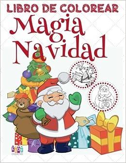 ✌ Magia Navidad ✌ Libro de Colorear Año Nuevo ✌ Colorear Niños ...