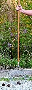 Large Nut Wizard- Nut Picker Upper for Black Walnuts and Sweet Gumball Rake