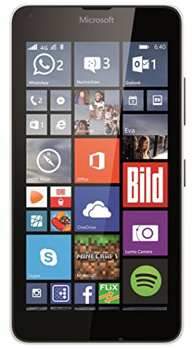 Microsoft Lumia 640 Smartphone (5 Zoll (12,7 cm) Touch-Display, 8 GB Speicher, Windows 8.1) weiß