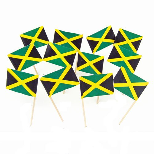 Jamaica Jamaican Flag Toothpicks 100 product image