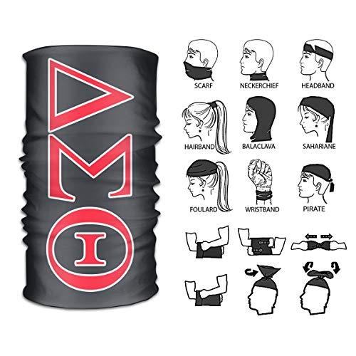 POP SHOTSTM Delta Sigma Theta Multifunction Magic Headbands Head Wrap Sport Sweatband Sport Workout Yoga Casual