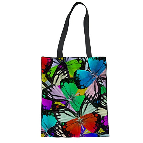 Showudesigns CC1183Z22, Borsa a mano donna Multicoloured Taglia unica butterfly 1