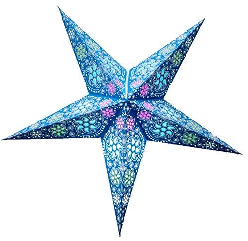 Chakra Paper Star Lantern (Blue) by UMTA (Lanterns Star Paper)