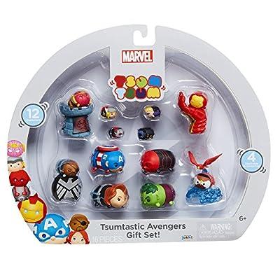 TSUM TSUM 64753 Marvel Avengers Figure Gift Set, 12 Piece: Toys & Games