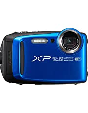"Fujifilm FinePix XP120 - Cámara acuatíca de 16.4 MP (Pantalla de 3"", estabilizador óptico, Video Full HD, WiFi) Azul"