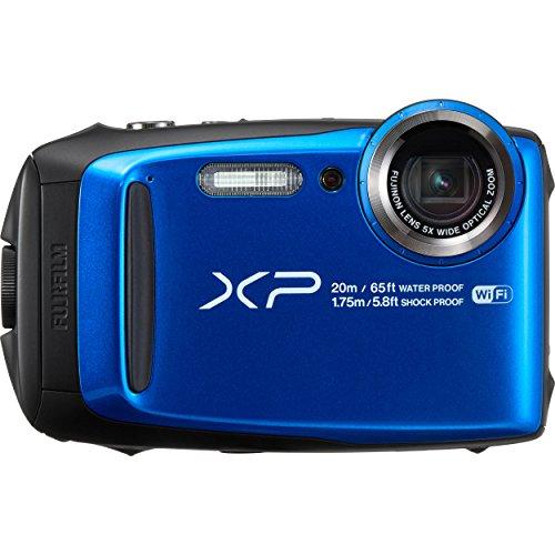 Fujifilm XP120 Cámara Finepix, Zoom Óptico de 5X, Color Azul