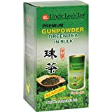 Uncle Lees Premium Gunpowder Green Tea in Bulk - USDA Organic - All Natural - With Antioxidants - 3.53 OZ (Pack of 4)