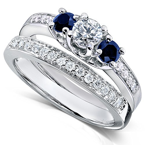 sapphire and diamond ring - 6
