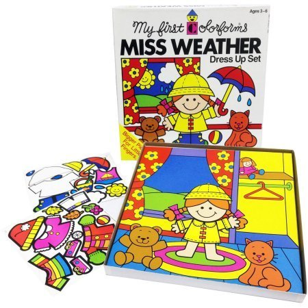 Colorforms Create-a-Story Miss Weather Re-Stickable Playset