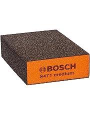 Bosch Professional Gąbka szlifierska Best for Flat and Edge (68 x 97 x 27 mm, średnia, Akcesoria szlifowaniu ręcznym)
