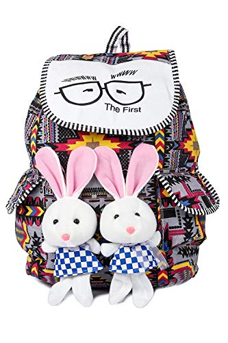 Happy Hands 12 Ltrs Teddy girls backpack multicoloured