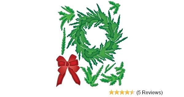 SPELLBINDERS SHAPEABILITIES BUILD A WREATH CHRISTMAS DIE CUTTING SET S5-184