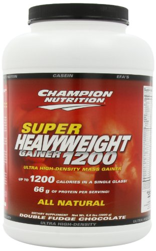 Champion Performance, Super Heavyweight, Chocolate Brownie flavor, 6.6 lbs