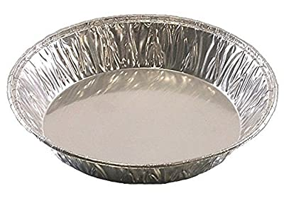"ATTA International 5"" Shallow Aluminum Foil Mini-Pie Tart Pan - Disposable Fruit Quiche Baking Tins (pack of 25)"