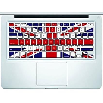 airShopp Vinilo para Teclado de MacBook/MacBook Pro/Air sin Teclado Numérico DE