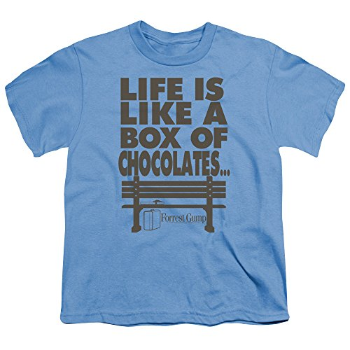2Bhip Forrest Gump Romance Comedy Drama Movie Box of Chocolates Big Boys T-Shirt Tee -