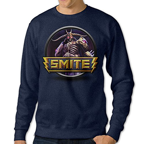 JXMD Men's Smite Crewneck Sweatshirt Navy Size L