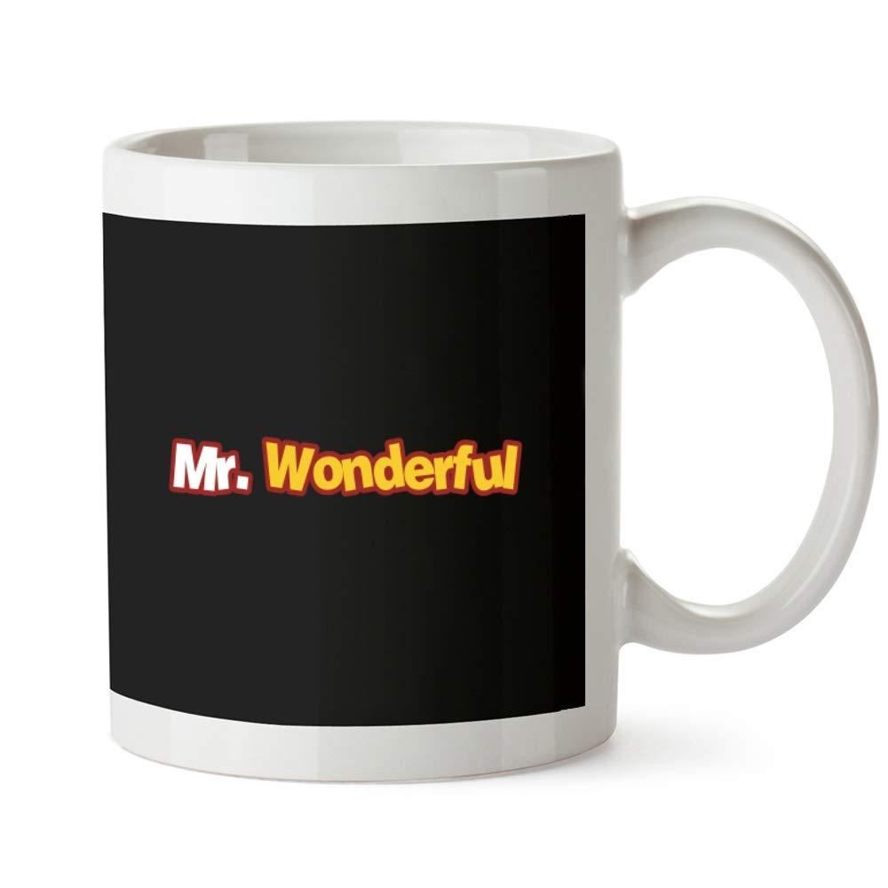 Idakoos Mr Wonderful Moved Font - Funny/Adjetivos - Taza: Amazon.es: Hogar