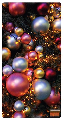Fridge Gallery - (Background Image: Jewel-Toned Balls) Photo and Card Display System. Conveniently Organize and Display Photos, Cards, Invites and More On Your Fridge Or Other Magnetic -