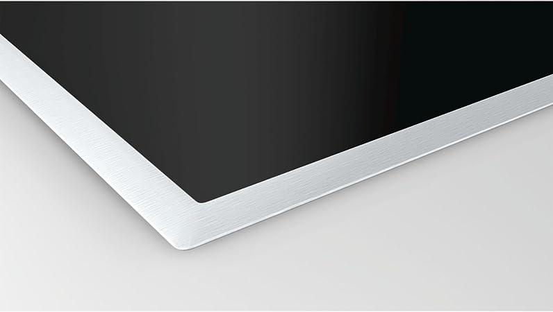 int/égr/é, induction, Verre et C/éramique, noir, capteur, toucher, partie sup/érieure avant /Plaque Bosch pie845bb1e Plaque/