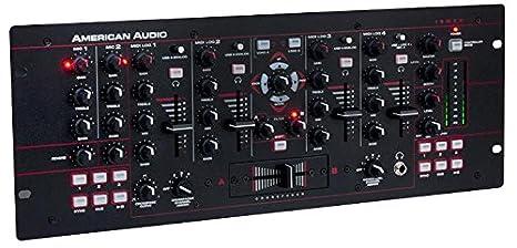 American Audio 19 MXR Midi mesa de mezclas 4 canales 19 Rack [1 ...