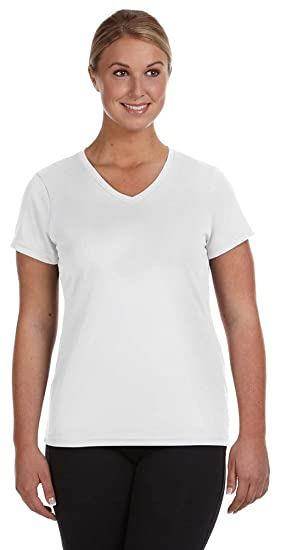 fa9c2f719133 Image Unavailable. Image not available for. Color: Augusta Sportswear  Ladies Moisture-Wicking V-Neck ...