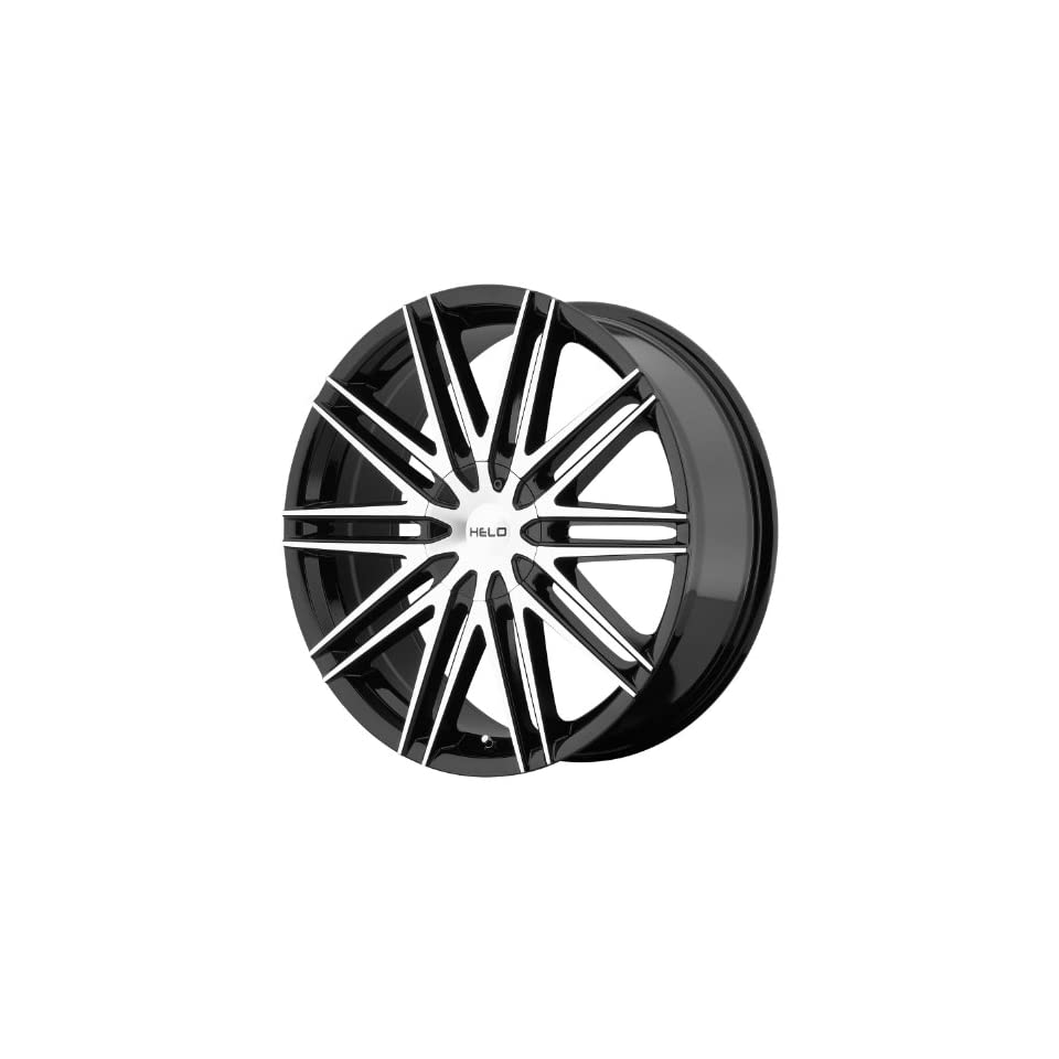 Helo HE880 Gloss Black Wheel With Machined Face (18x8/5x115, 120mm, +42mm offset)
