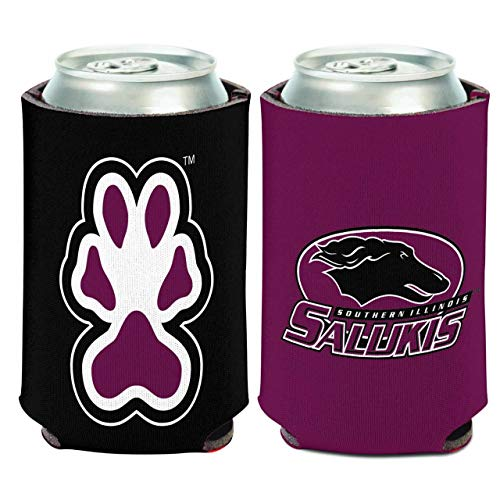 WinCraft NCAA Team Pride Can Cooler - Team Color (Southern Illinois Salukis)