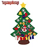Image of ASSIS 2016-New Felt Christmas Tree Set with Ornaments - Wall Hanging-3ft