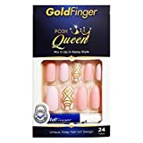 Gold Finger Fashion Nails Gf80 by Kiss