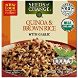 Seeds of Change Organic Quinoa and Brown Rice with Garlic (8.5 oz., 6 ct.) (pack of 6)