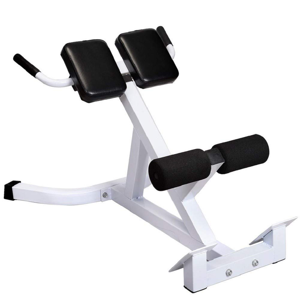 Bench Roman Chair Back Hyperextension Adjustable AB Bench Hyperextension Exercise Strength Training Back Machines Home
