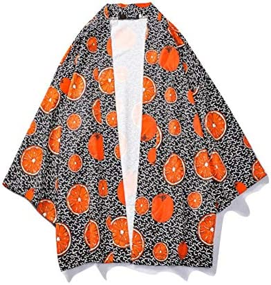 和式パーカー カーディガン メンズ 七分袖 総柄 羽織ジャケット 中国風 パーカー 綿麻 おしゃれ 着物 カップル 面白い コスプレ変装 イベント