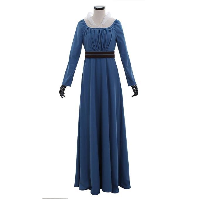 1791\'s lady Blue Medieval Renaissance Gown Dress: Amazon.ca ...