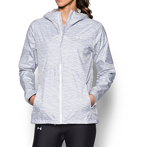 Under Armour Women's Surge Jacket, Glacier Gray/White, (Glacier Systems Jacket)