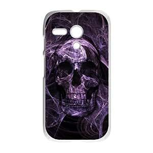 Skull Motorola G Cell Phone Case White KO2596619