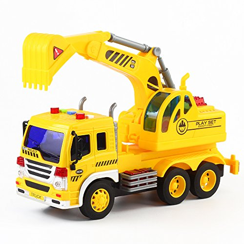 Fun Little Toys Friction Excavator product image